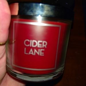 NWT B&B WORKS SINGLE WICK CANDLE CIDER LANE